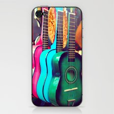 las guitarras. spanish guitars, Los Angeles photograph iPhone & iPod Skin