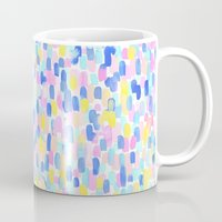 toddler Mugs featuring Delight Pastel by Jacqueline Maldonado