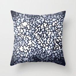 Mosaic White Sox Nonsense Throw Pillow