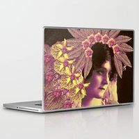 wedding Laptop & iPad Skins featuring GARDEN WEDDING by Julia Lillard Art