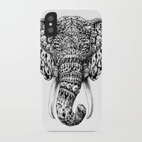 bioworkz iPhone & iPod Cases featuring Ornate Elephant Head by BIOWORKZ