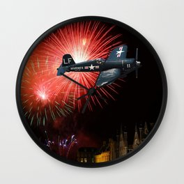 Triumphant Return Wall Clock