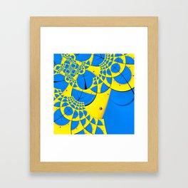 Droste - A Study of Form  Framed Art Print