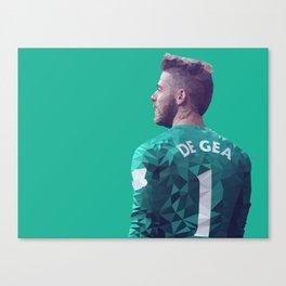 David De Gea - Manchester United Canvas Print