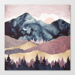 Mauve Vista Canvas Print