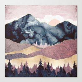 Mauve Vista Canvas Print