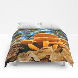 Blackbird Mushrooms Comforters