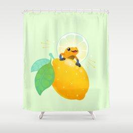 Golden poison lemon sherbet 1 Shower Curtain