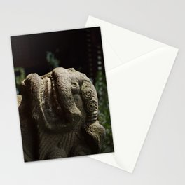 Lion Trapped in Concrete Stationery Cards