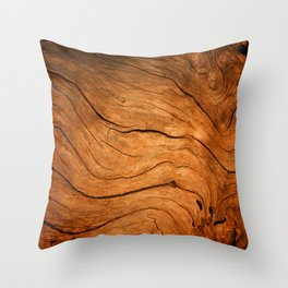 Wood Texture 99 Throw Pillow