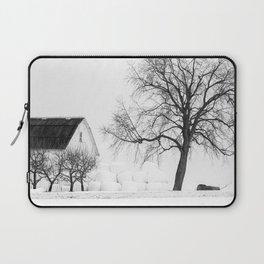 Winter on the Farm Laptop Sleeve