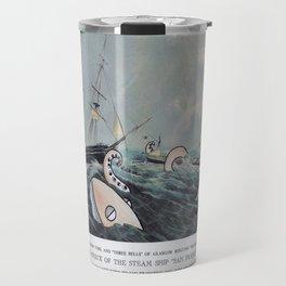 Wreck of the Steamships Travel Mug