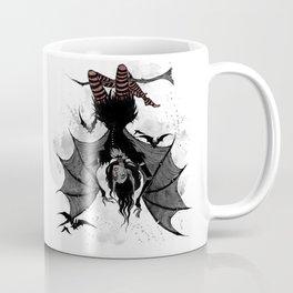 Inktober Bats Coffee Mug