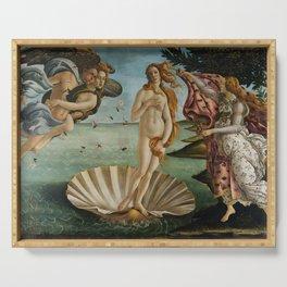 The Birth of Venus Serving Tray