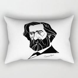 Giuseppe Verdi Rectangular Pillow
