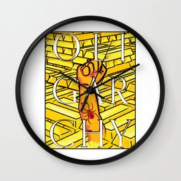 OLIGARCHY Wall Clock