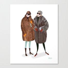 NY Russian Ladies Canvas Print