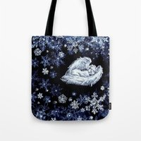 holiday Tote Bags featuring Holiday by Ivanushka Tzepesh