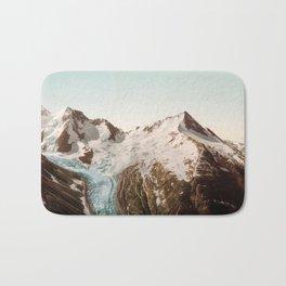 Vintage Mountain Peaks Bath Mat