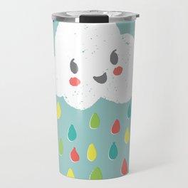 Rainbow Rain - Bright Travel Mug