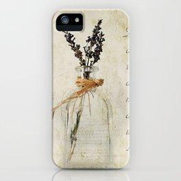 Lavandula / Lavander iPhone Case