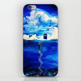 Tardis Cloud iPhone Skin