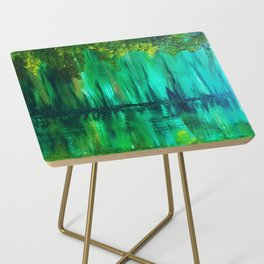 Green reflection Side Table