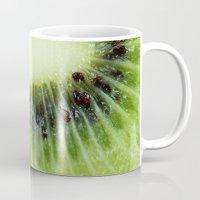 kiwi Mugs featuring Kiwi by ThePhotoGuyDarren