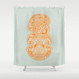 Hei Tiki Shower Curtain