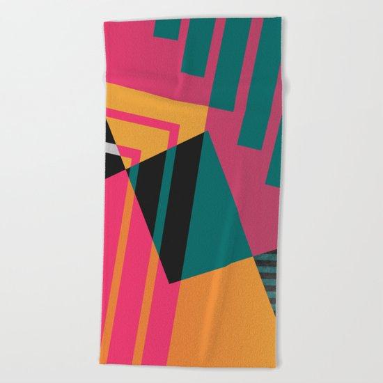 Geometric#23 Beach Towel