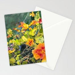 Nasturtium Garden Stationery Cards