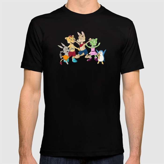 Ooboo and friends Characters T-shirt