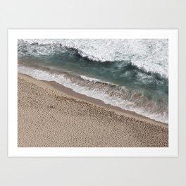 Aerial Beach Photography Art Print