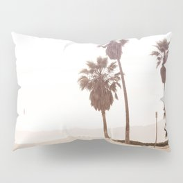 Vintage Summer Palm Trees Pillow Sham