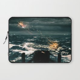 Fortune Favours The Brave Laptop Sleeve