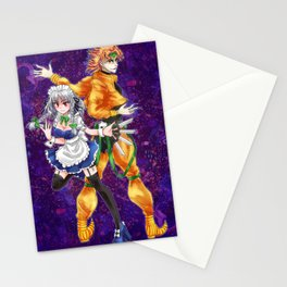 sakuya and dio Stationery Cards