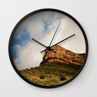 utah Wall Clocks featuring Utah. by rachel kelso