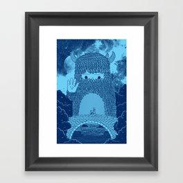Hello Little Creature Framed Art Print