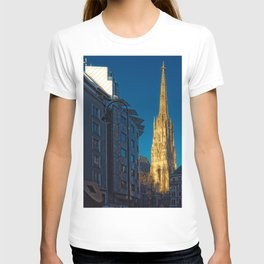 Stephen's Cathedral - Vienna city center T-shirt