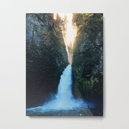Waterfall Glory! Metal Print