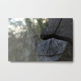 Happy Tree Metal Print