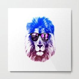 summer lion Metal Print