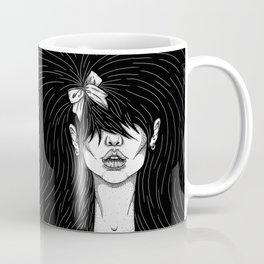 Girl With a Ribbon  Coffee Mug
