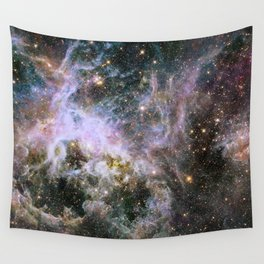 Cosmic Tarantula Nebula (infrared view) Wall Tapestry