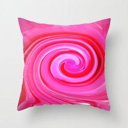 Cosmic Pink Throw Pillow