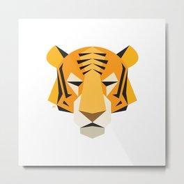 Tiger Balm Metal Print