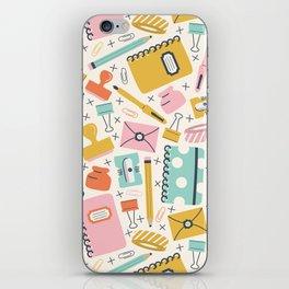 Stationery Love iPhone Skin