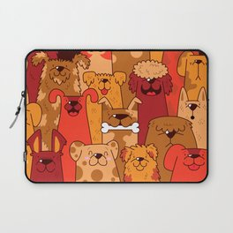 Pile of Woofs Laptop Sleeve