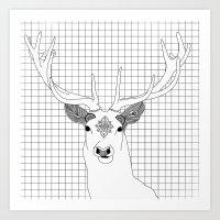 Stag 2.0 Art Print