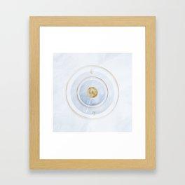 Full Moon Ease Framed Art Print